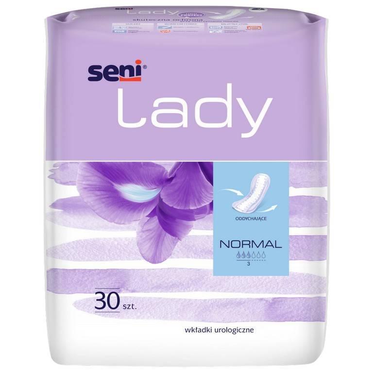 Wkłady anatomiczne Seni Lady Normal 30 SZT